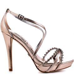 Gelsey heels Rose Gold brand heels Badgley Mischka Sexy Heels 548cac6a8cfa