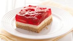 Strawberry Pretzel Squares - This recipe is soooo good.  Made it for a babyshower at the mother-to-be's request.  Easy!