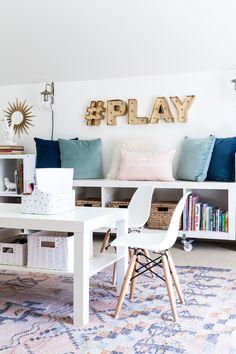 Interesting Playroom Office Ideas delightful playroom office ideas for office playroom ideas trend 6 Spring Home Tour Modern Playroomoffice