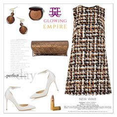 Visit Glowing Empire for more glamorous gifts by sabinakopic on Polyvore featuring polyvore, fashion, style, Dolce&Gabbana, Jimmy Choo, Bobbi Brown Cosmetics and clothing