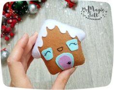 Christmas Ornaments felt Gingerbread man ornament от MyMagicFelt
