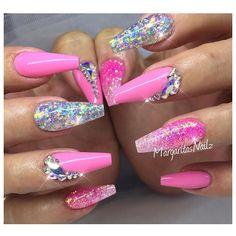@vetro_usa # 184 #nailart #gelnails #coffinnails #glitter #nails #MargaritasNailz #glitternails #vetrousa #pink #nailfashion #vetrogel #pink #dryglitter #teamvalentino #naildesign #teamvetro #nailpromagazine #hudabeauty #vegas_nay #hairandnailfashion #valentinobeautypure #nailswag #nails2inspire #nailsofinstagram #nailedit #ombrenails #pinknails #nailaddict #nailstagram #nailaddict #nailtech #nailartaddict