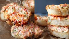 How To Make Ham And Cream Cheese Garlic Bread - No Shame Saturday - By O...