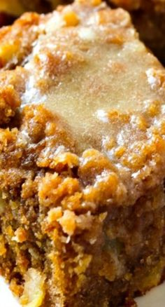 Glazed Apple Crumb Cake