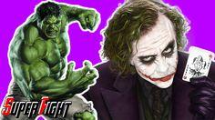 Joker & Scare Crow vs Hulk vs Bane - Fight in Real Life - Superhero Movie