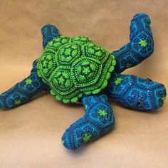 Ravelry: Lineandloops' Dude the turtle