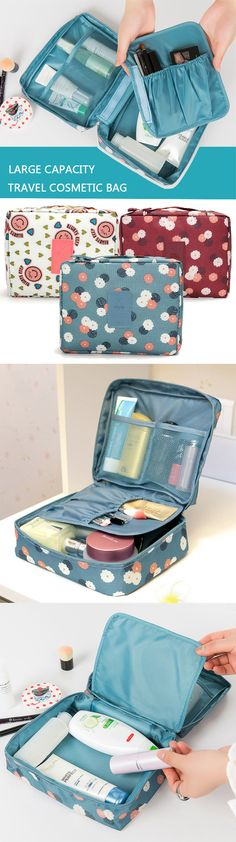 US$9.99 Travel Cosmetic Makeup Case Bag