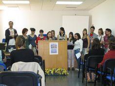 Lecturas en la BICC para celebrar el Día del Libro 2011. #celebraciones #lectura #biblioteca #uex
