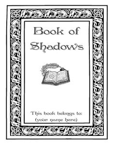 Complete Book of Shadows 525 pages by GrimoireCafe on Etsy