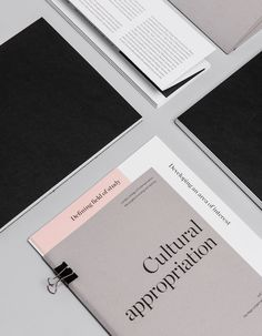 brand design & print typography via blog milk blog — explore our parcels of elevated essentials @ minimalism.co