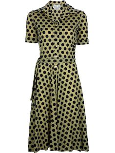 Ken Scott Vintage polka dot dress