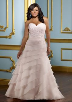 Make Your Own Wedding Dresses For Plus Size Sleeveless Court Train Strapless Sweetheart Chic And Modern Hot Sale Wedding Dresses