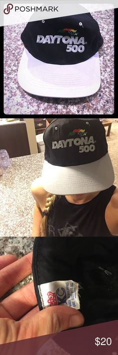 Vintage Daytona 500 SnapBack vintage NASCAR Awesome SnapBack. New without tags, vintage and in great condition. nascar Accessories Hats