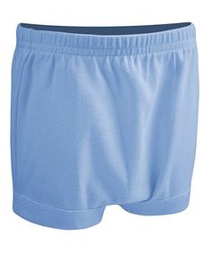 This Baby Blue Shorty Shorts - Infant is perfect! #zulilyfinds