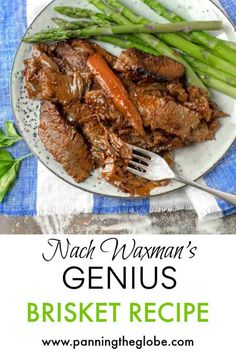 This is the absolute BEST brisket recipe! Nach Waxman's brisket has been called a Genius Recipe. It's so simple and so incredibly tender and delicious. Braised Brisket, Smoked Brisket, Smoked Ribs, Best Brisket Recipe, Best Selling Cookbooks, How To Cook Brisket, Matzo Meal, Beef Recipes