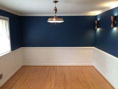 Blue Bedroom Colors, Home Decor Bedroom, Dining Room Design, Living Room Decor Apartment, Room Paint, Room Wall Colors, Dining Room Blue, Room Design, Bedroom Wall Designs