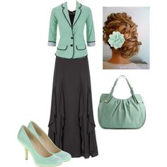 """""""Classy"""" by trinity-holiness-girl on Polyvore... I love these colors"""