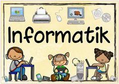 """Themenplakat """"Informatik""""   Dieses Plakat  zum Thema """"Informatik"""" war ein Wunsch. Ich würde mich freuen, wenn es euch gefällt!           ..."""