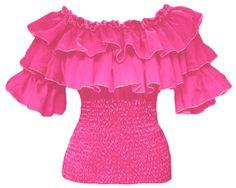 Bata 2 Babados Pink