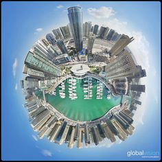 Check these amazing panoramas over Dubai. Turn around and discover the world as never seen before. Aerial View, Dubai, Fair Grounds, Sketch, Tours, Sky, Architecture, World, Drawings