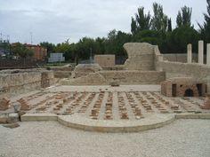 Hemos ampliado la información que teníamos sobre la interesante ciudad romana de Complutum en Alcalá de Henares.