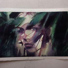 Quinta-feira, #aquarela #watercolor.