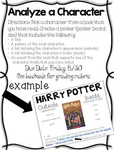Life in Fifth Grade: Analyze a Character Project and Writing a Letter (The Book Whisperer)