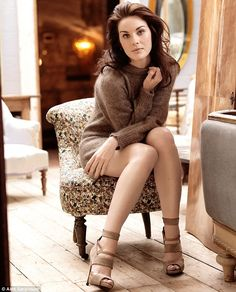 'I love Edwardian elegance - women have a lot more freedom now, but I think we've lost a bit of our femininity,' says Michelle Dockery
