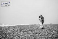 Beach wedding photos. Cley Windmill Norfolk Wedding Venue. Norfolk Wedding Photographer. www.jameskphoto.co.uk