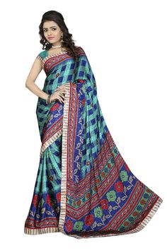 D No 20546 SILK CRAPE JAQ Fancy Designer Saree - http://member.bulkmart.in/product/d-no-20546-silk-crape-jaq-fancy-designer-saree/