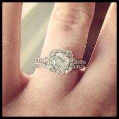 The perfect match. #BrilliantEarth #wedding #weddingwednesday #bridal #bridetobe #ido #diamond #love #engagement