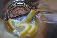 Voda s citronem aneb pitný režim