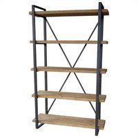 Moe's Lex 5 Level Shelf in Natural