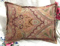HERA PAISLEY  Pair 2 Custom Made Boudoir Pillow by Sew1Pretty, $22.00