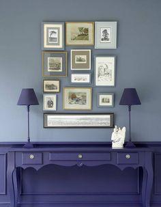 peindre un mur en deux couleurs : dynamisez vos espaces grâce à un mur bicolore - Elle Décoration