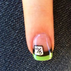 This could be a cool project to have at a party - nail painting. :)  Mad Hatter Nail Art by Jimmy