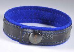 armband aus fahrradschlauch - DIY