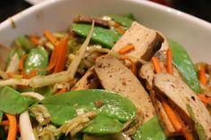 Do Fu Gan and Veggies in Black Bean Sauce « FoodMayhem