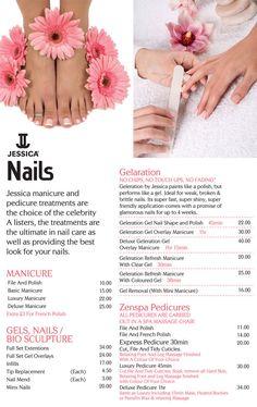 Nail Salon Price List