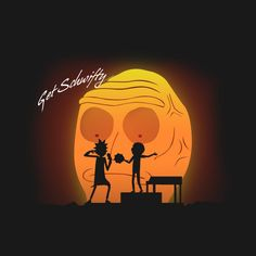 """""""Random Schwifty Memories"""" by SergioDoe Rick and Morty in the style of Daft Punk Get Schwifty Rick And Morty Merch, Rick Und Morty, Wubba Lubba, Get Schwifty, Daft Punk, Creepy, Character Design, Fan Art, Memories"""