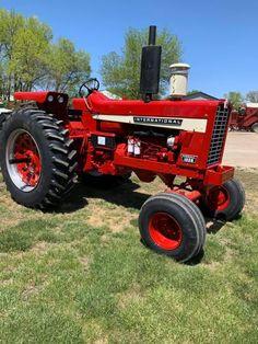 International Tractors, International Harvester, Case Ih, Black Smoke, Farm Gardens, Unique, Red