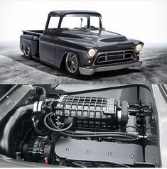 Clássica 😎 Sigam o ADM 👉   Custom Pickup Trucks, Classic Pickup Trucks, Chevy Pickup Trucks, Gm Trucks, Chevrolet Trucks, Chevy 3100, Chevy Pickups, Chevrolet Apache, Hot Rod Trucks