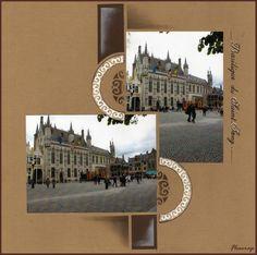 1011 - Photo de Bruges et ses envrons,mai 2010 - Flopassionscrap