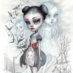 A Girl and Her Ghosts by Mab Graves