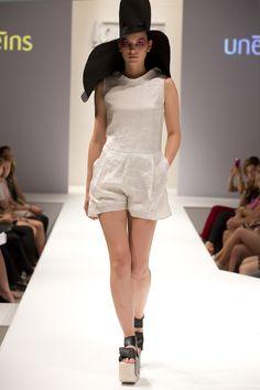 UNEINS SS15 runway, Berlin Fashion Week Berlin Fashion, Ss 15, Overall Shorts, Overalls, Runway, Spring Summer, Women, Cat Walk, Walkway
