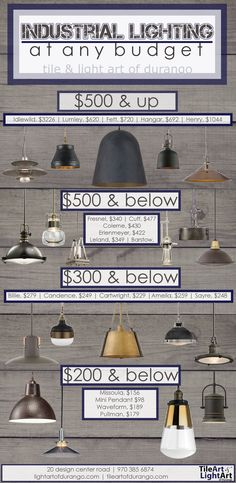 Industrial Lighting At Any Budget! #lighting #lights #light #chandelier #pendant #sconce #pendants #sconces #chandeliers #modern #midcenturymodern #classicstyle #farmhouse #schoolhouse #missionstyle #mission #industrial #rustic #design #homedesign #decor #homedecor #remodel #build #homebuild #architecture #hubbardtonforge #handmade