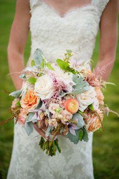 Pretty neon bouquet  Style Me Pretty | Gallery & Inspiration | Picture - 1283365
