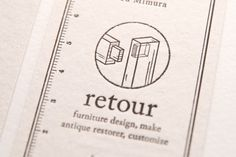 retour CI / Namecard / WEB on Behance