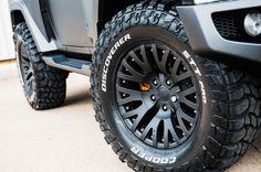 Jeep Wrangler Black Hawk Edition Wheels