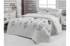 Prešívaná ľahká prikrývka s obliečkami na vankúše Atlantis, 200 x 220 cm Atlantis, Shabby, Full Bed, Comforters, Pillow Cases, Blanket, Furniture, Home Decor, Creature Comforts